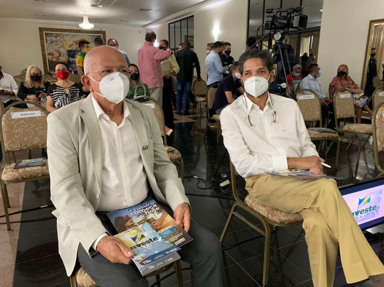 Presidente do CRA-RR participa do Investe Roraima, no Palácio do Governo