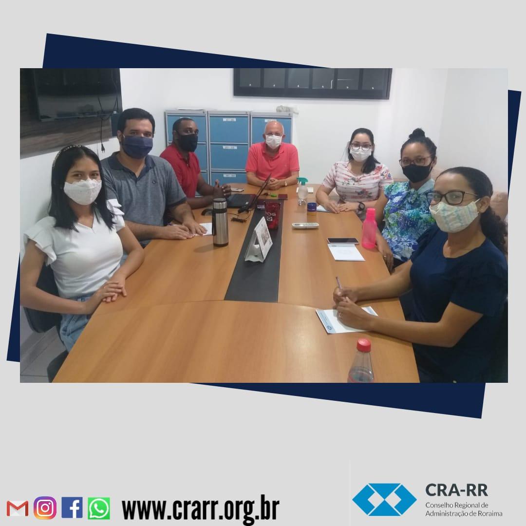 Reunião Com Colaboradores do CRA-RR