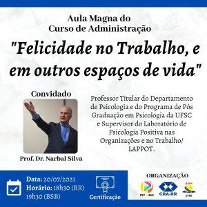 AULA MAGNA DO CURSO DE ADMINISTRAÇÃO DA UFRR